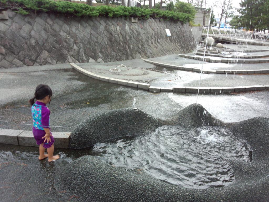 海の公園 噴水広場