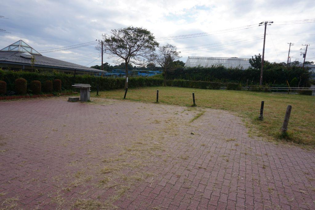 農園の広場