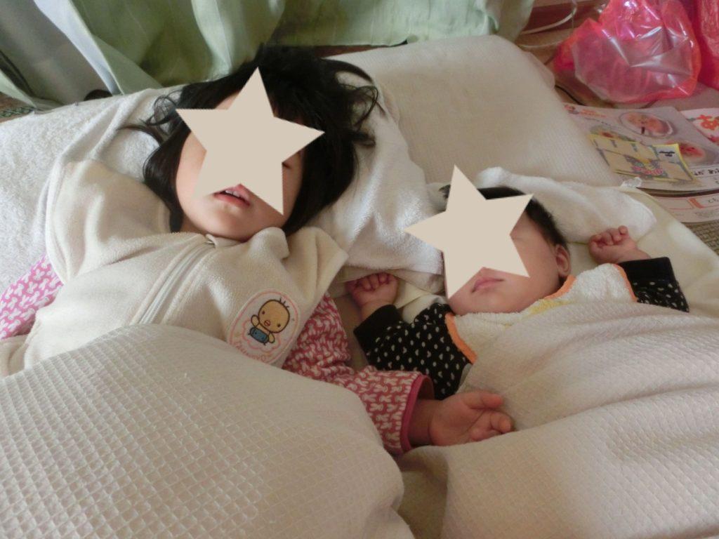 寝ない子供をスッと寝かしつける方法