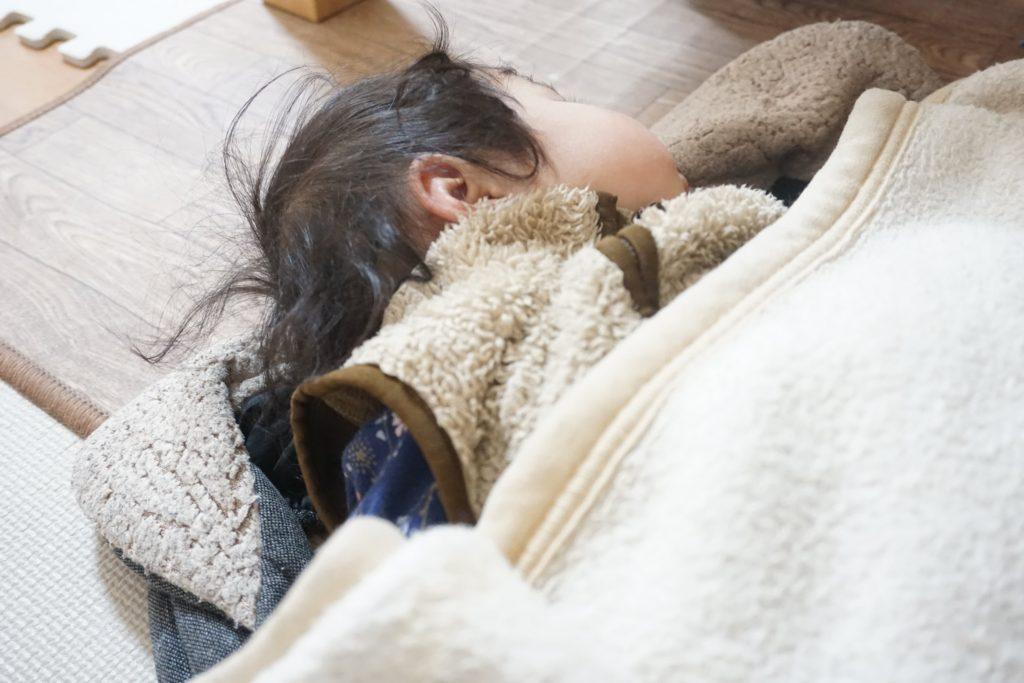 昼寝の時間を調整する