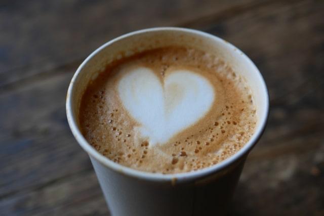 バリスタのコーヒー