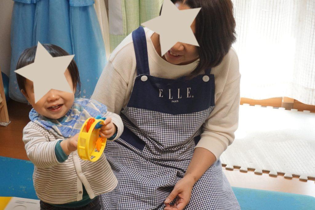 ママの勉強中、お子さんも楽しく遊べました