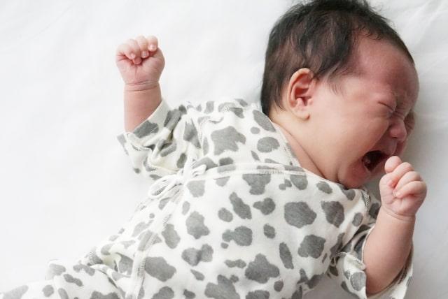 子供が泣き止まない